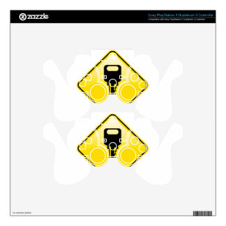 Key Road Sign Vector Skins For PS3 Controllers