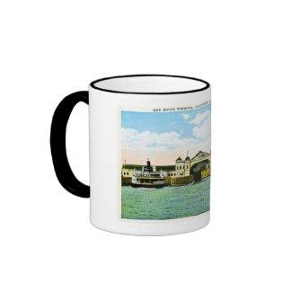 Key Route Ferry Boat Terminal, Oakland, CA mug