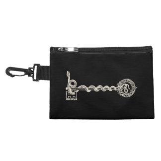 Key & Snake - cream white Accessory Bag