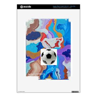 Key Soccer Ball iPad 3 Decal