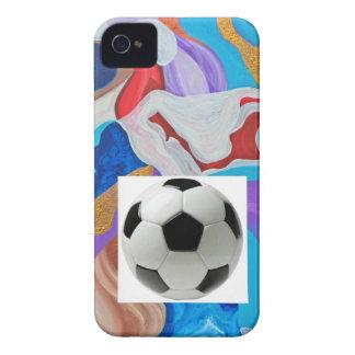 Key Soccer Ball iPhone 4 Case-Mate Case