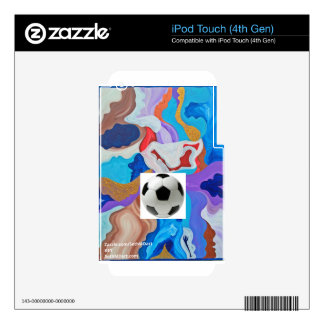 Key Soccer Ball iPod Touch 4G Skins