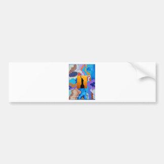 Key Statue Of Liberty Bumper Sticker