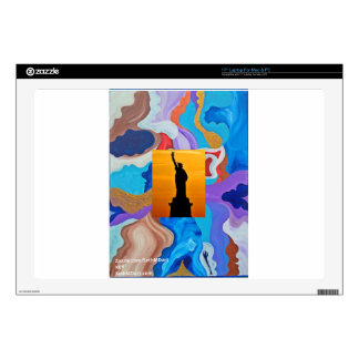 Key Statue Of Liberty Decals For Laptops