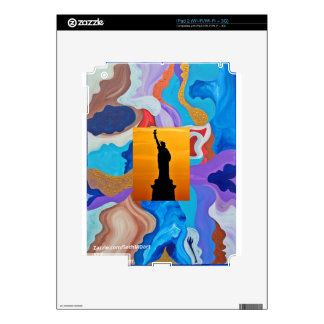 Key Statue Of Liberty iPad 2 Decal