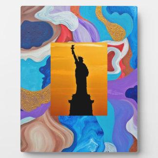 Key Statue Of Liberty Plaque