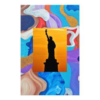 Key Statue Of Liberty Stationery