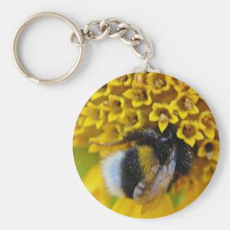 Key supporter bumblebee keychain