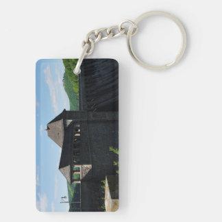 Key supporter Edersee concrete dam tower Keychain