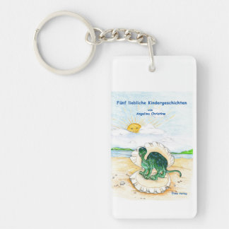 Key supporter five lovely child stories keychain