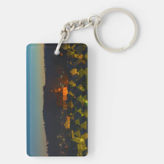 Key supporter Freudenberg old part of town Keychain