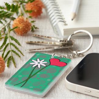 Key supporter acrylic key chain