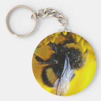 Key supporter large bumblebee keychain