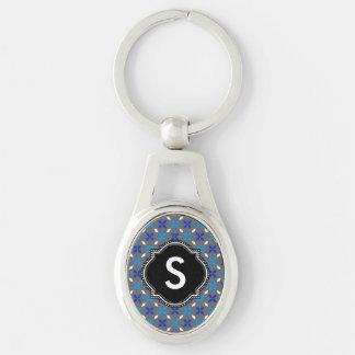 Key supporter Monogram Keychain