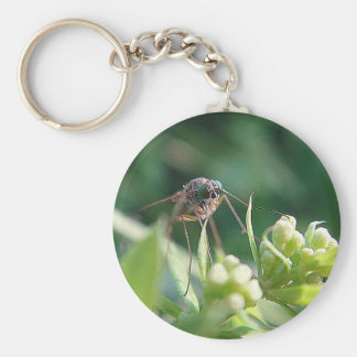 Key supporter mosquito keychain