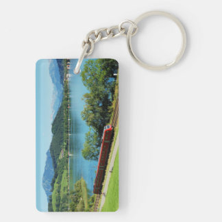 Key supporter of large Alpsee with Immenstadt Keychain