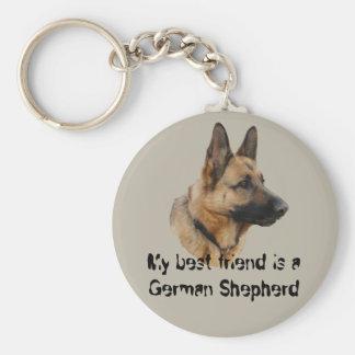 Key supporter shepherd dog 01 keychains