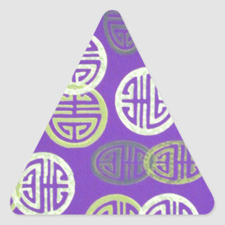 key symbols triangle sticker