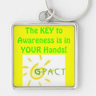 Key to Awareness Keychain