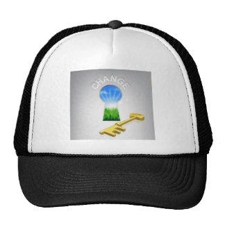 Key to Change Mesh Hats