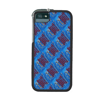 Key to Happiness Pocket Quote Blue Jeans Denim iPhone 5/5S Cases