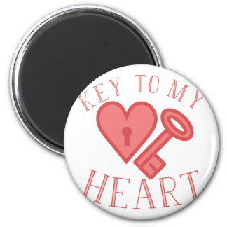 Key To Heart Magnet