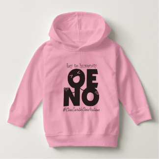 key to humanity black hoodie
