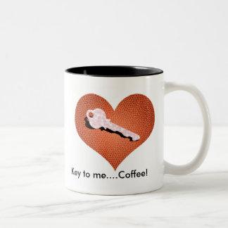 Key To Me...Coffee! Mug