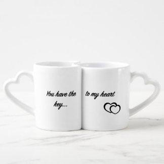 Key to my heart <3 coffee mug set