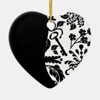 Key to My Heart/ Anniversary Ceramic Ornament