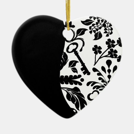 Key to My Heart/ Anniversary Christmas Tree Ornament