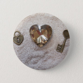 Key to my Heart Button