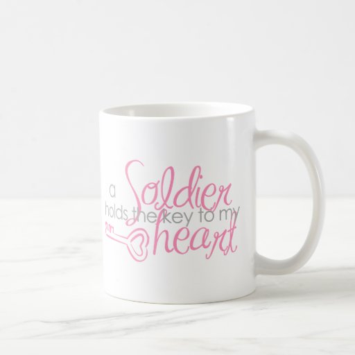Key to my heart coffee mug