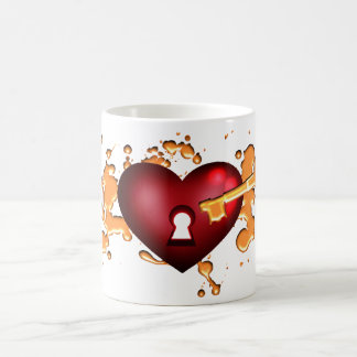 Key to my heart cup
