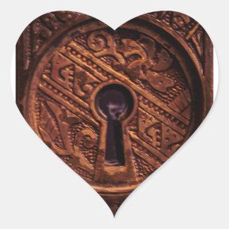 Key to my Heart Heart Sticker