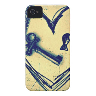 Key to my Heart iPhone 4 Cover