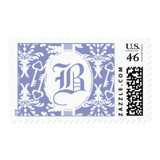 Key to My Heart Monogram Stamps