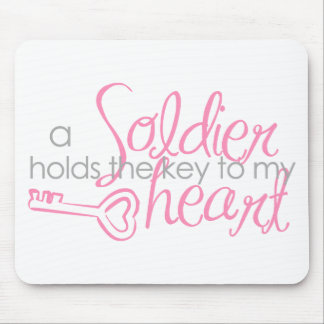 Key to my heart mouse pad