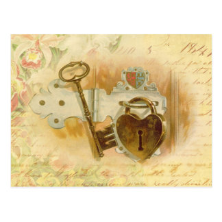 Key To My Heart Postcard