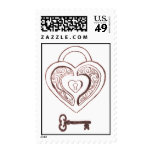 Key to My Heart Stamps