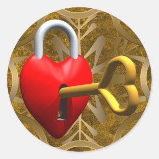 Key To My Heart Sticker