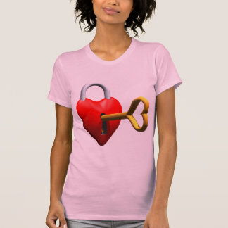 Key To My Heart T-shirts and Gifts