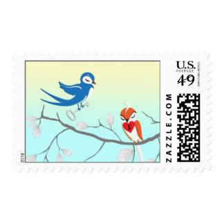 Key To My Heart | Wedding Postage | Love Birds