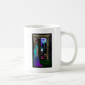 Key to Otherworlds,Fantasy, Goddess, Magic, Pagan Classic White Coffee Mug