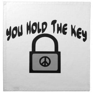 Key To Peace Cloth Napkin