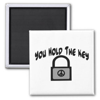 Key To Peace Magnet
