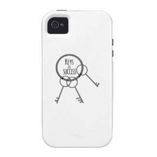 Key to Success Vibe iPhone 4 Covers