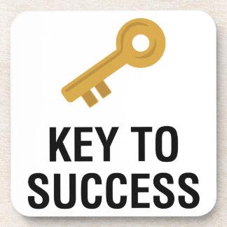 Key to Success Coaster