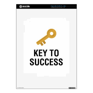 Key to Success Decals For iPad 2