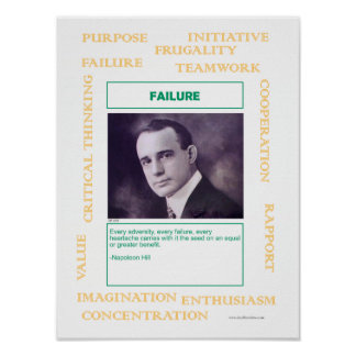 Key to Success:  Failure Poster